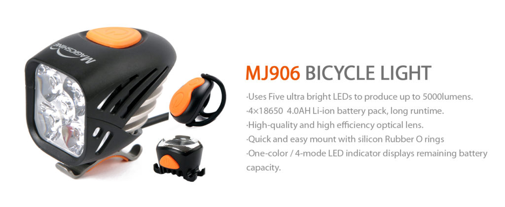 lights for mountain biking at night