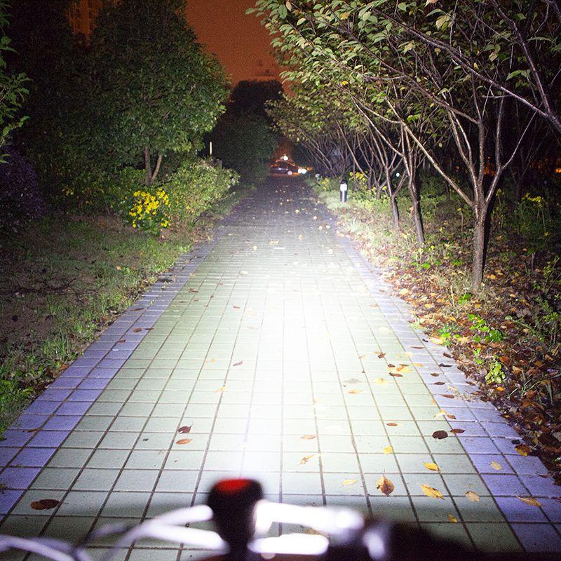 mountain bike night riding lights