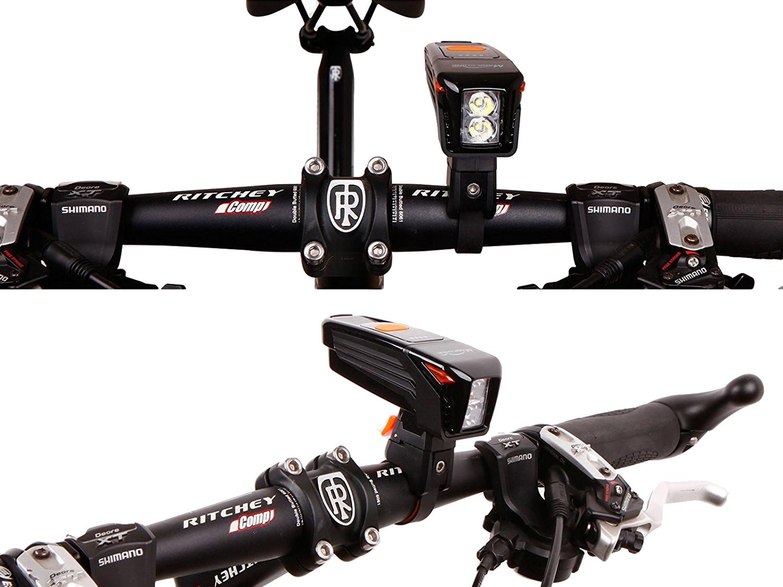 rechargeable bike headlight