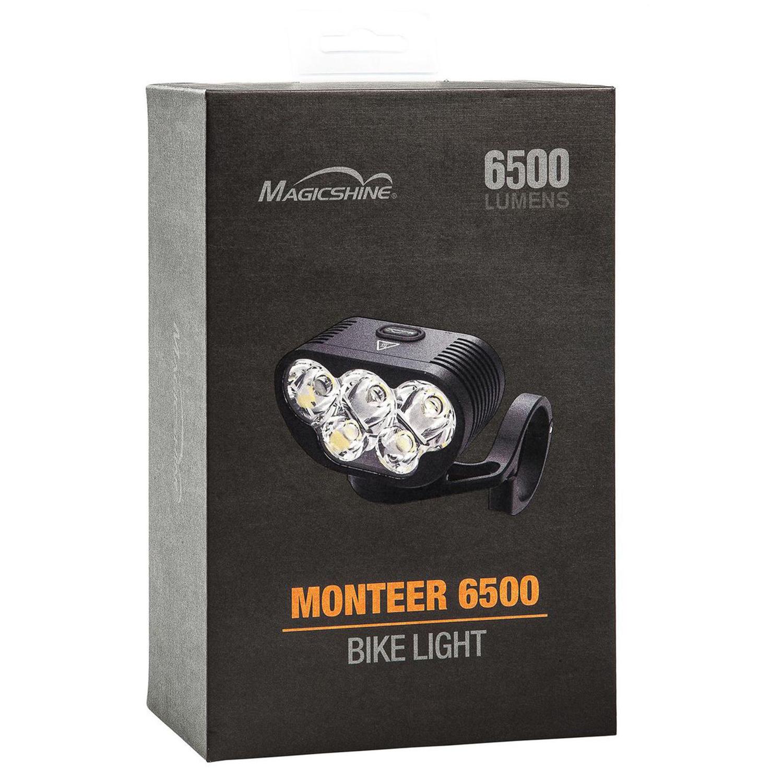 Comparazione Watt Lumen Led.Magicshine Mountain Bike Light Monteer 6500 Mtb Headlight 2018
