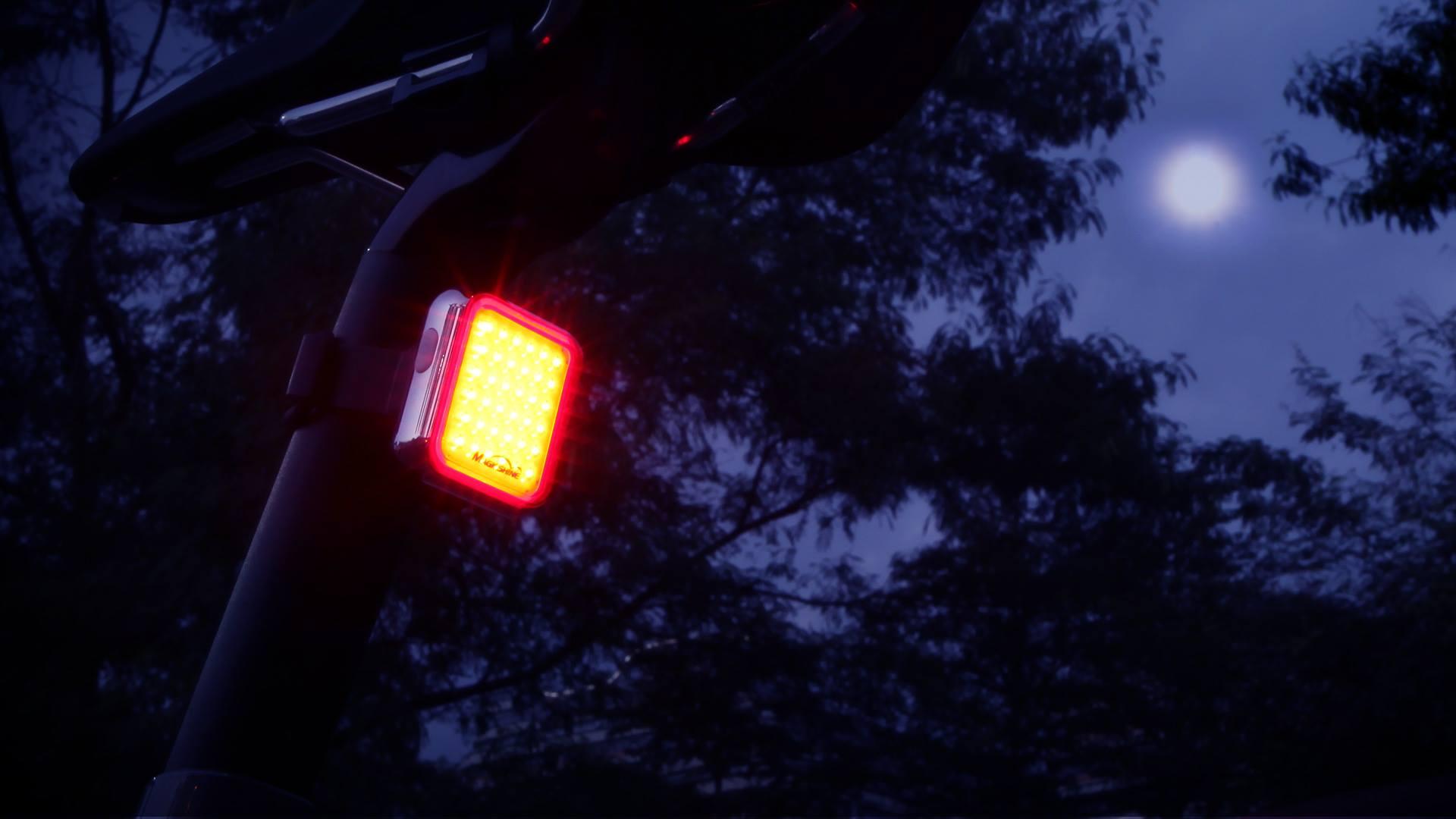 Seemee 60 Bike Tail Light Brand New Magicshine 2018