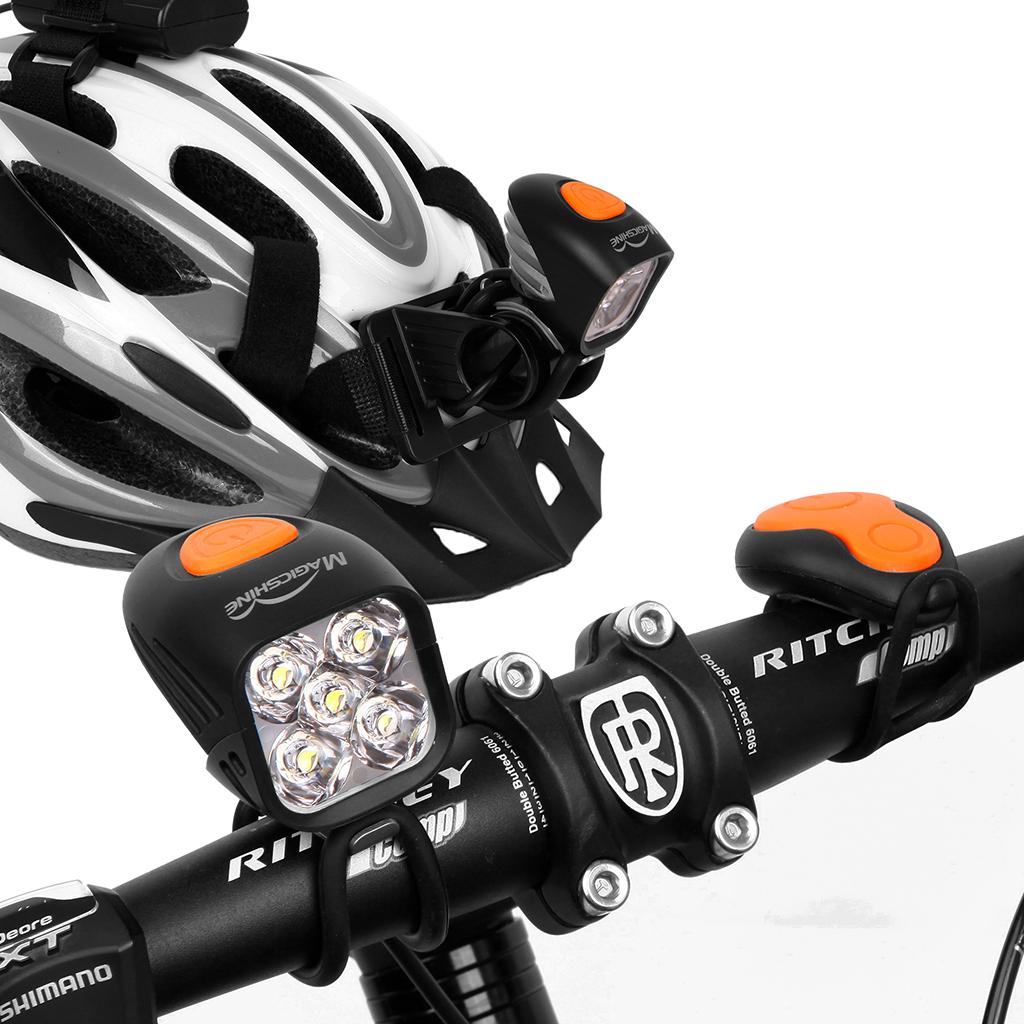 Bright Led Bike Lights For Mountain Biking At Night High