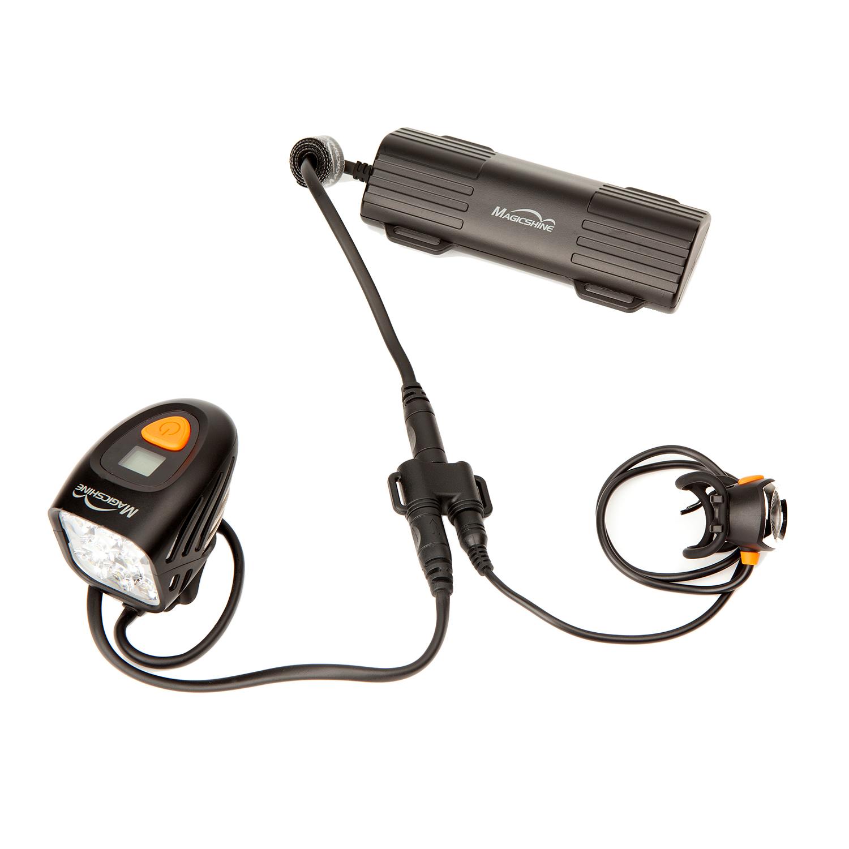 wired bike tail light